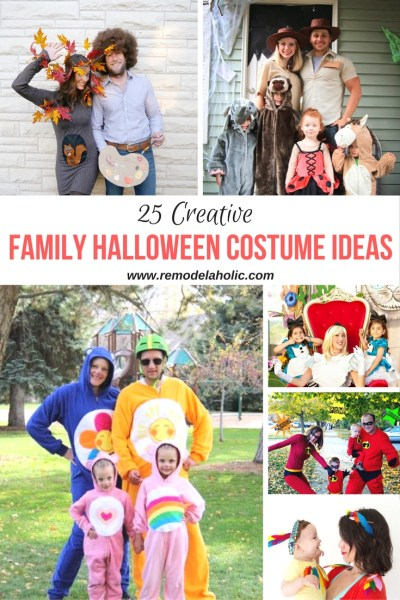 Family Halloween costume ideas pin 1