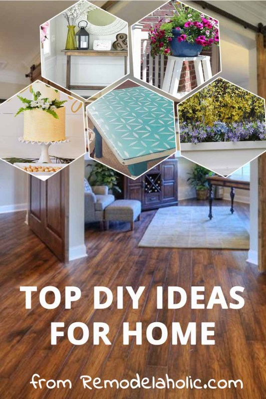 Looking for beautiful home decor ideas, inside and out? @Remodelaholic has you covered! See all our latest and greatest.