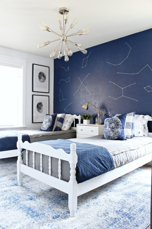 boys space and astronaut inspired room, Classy Clutter