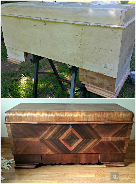 cedar chest redo before and after, Redo It Yourself Inspirations