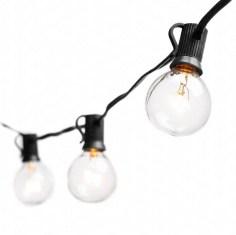 outdoor string lights, globe
