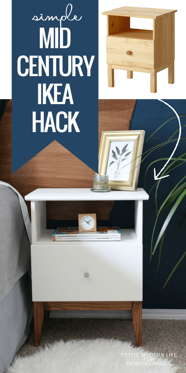 diy ikea tarva. Make IKEA Look Like Classic Mid Century With This Easy TARVA Nighstand Hack. It Will Diy Ikea Tarva N