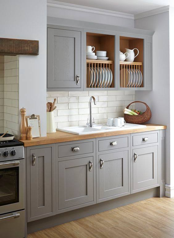 v gray kitchen by cooke and lewis