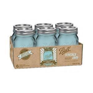 vintage kitchen charm blue mason jars