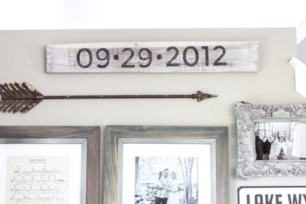 11 How To Make Any Type Of Sign Using Your Printer, Some Paint, And A Piece Of Lumber, By Blesser House Featured On @Remodelaholic