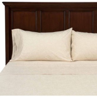 Ivory Paisley Print 300 Thread Count Sheets