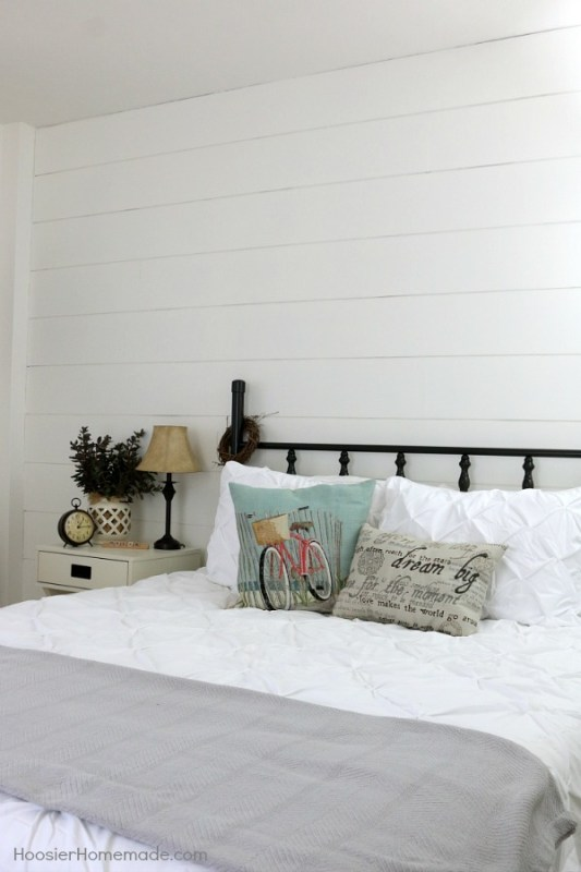 Fixer Upper DIY Shiplap Wall for Under $40_Hoosier Homemade