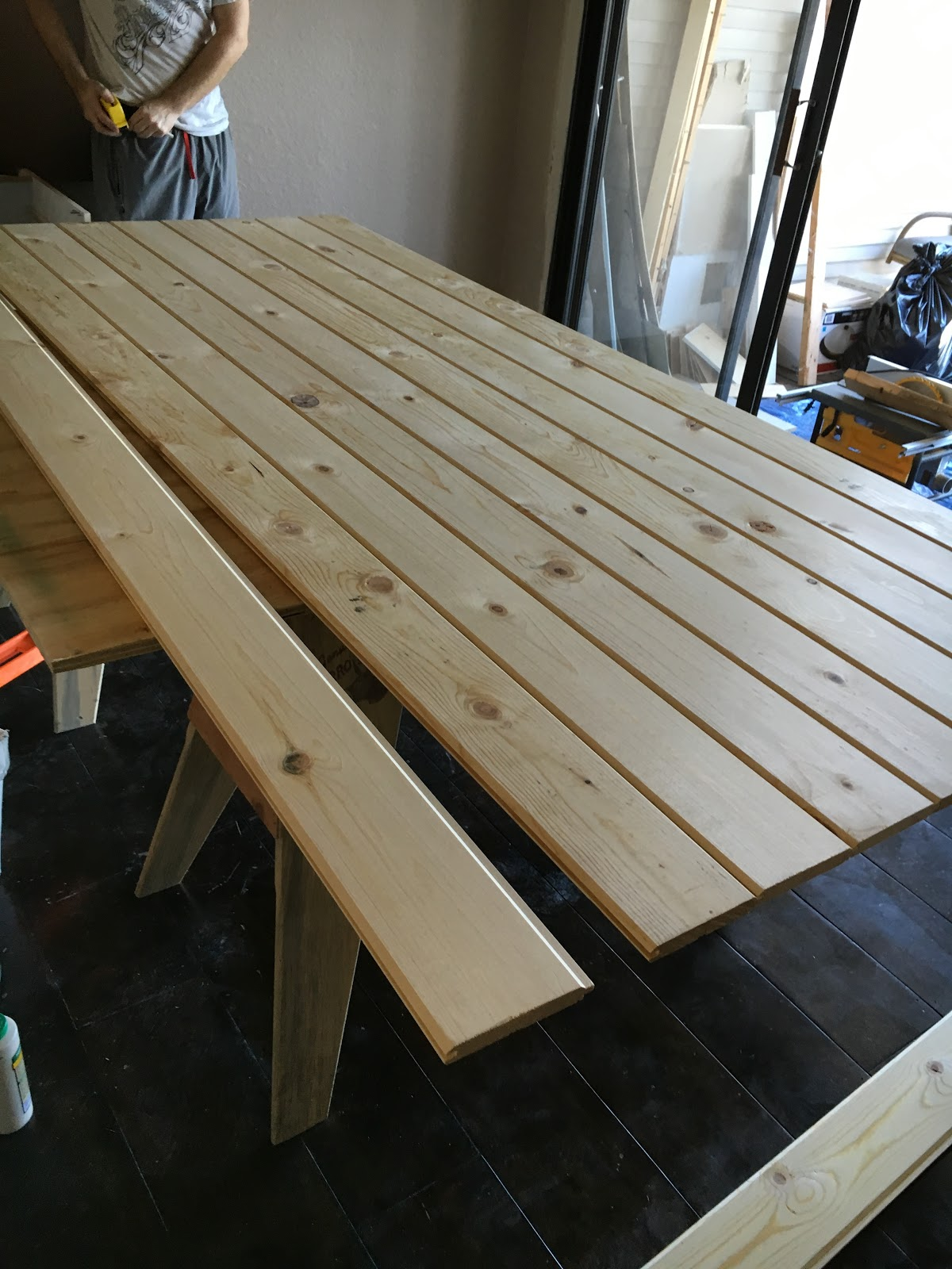 Tongue And Groove Planks In A Simple Diy