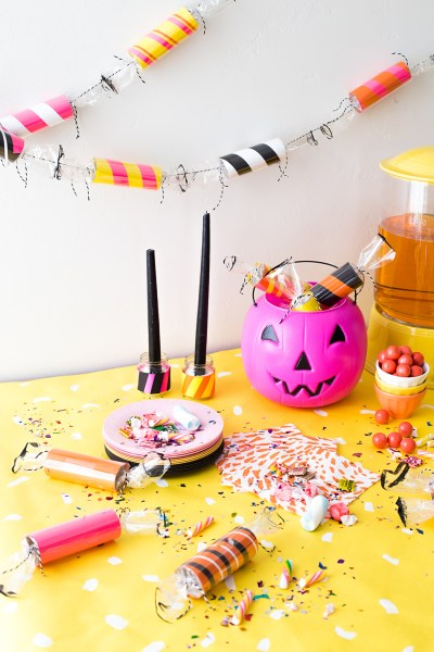 Candy Halloween Garland The House That Lars Built