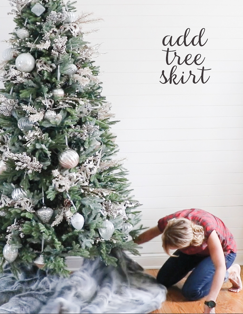Remodelaholic | How to Decorate a Christmas Tree in 5 ...