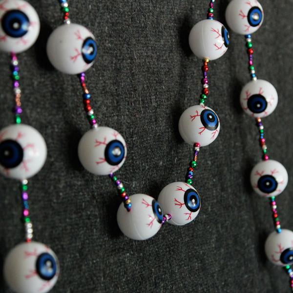 Eyeball Garland Hands Occupied