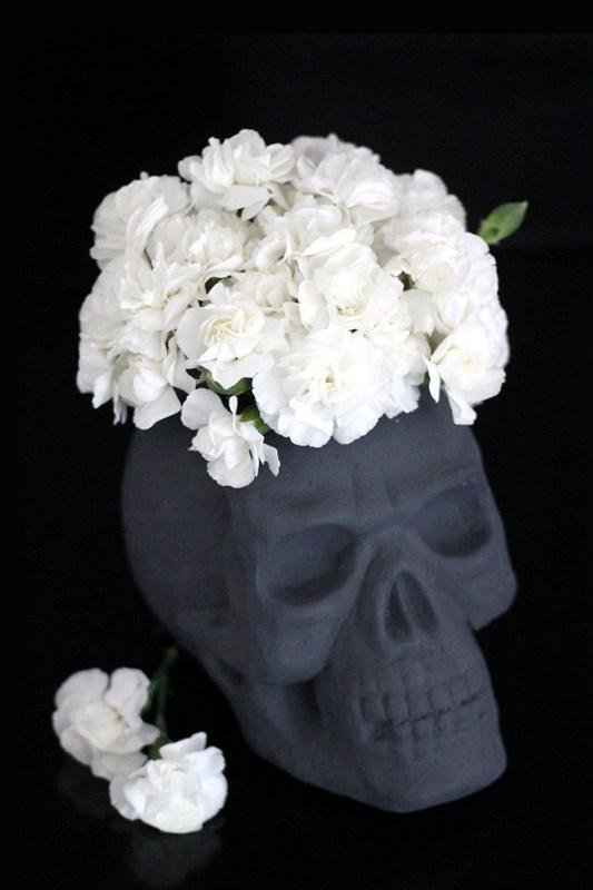 Foam Skull Vase For Halloween Persia Lou