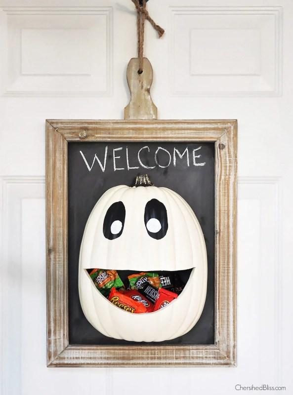 Halloween Candy Door Hanger Cherished Bliss