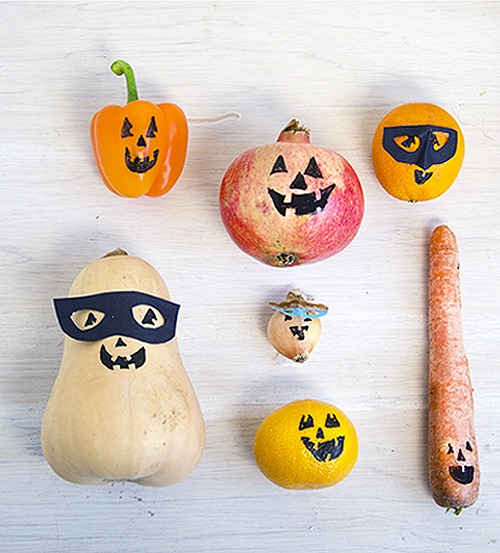 Halloween Fruit And Veggie Faces Willow Day