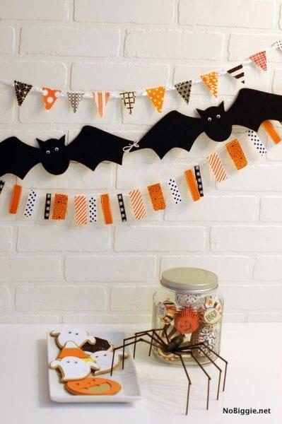 Halloween Garland How To NoBiggie.net
