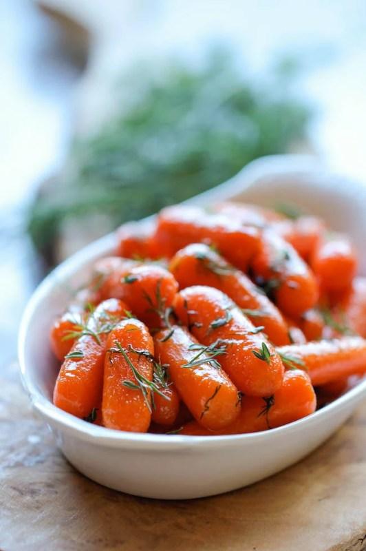 Honey Roasted Carrots Damn Delicious