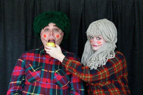 Scarecrow Couple Costume