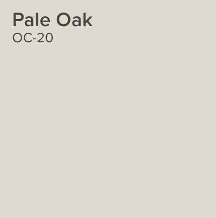 Pale Oak by Benjamin Moore. Color Spotlight on Remodelaholic