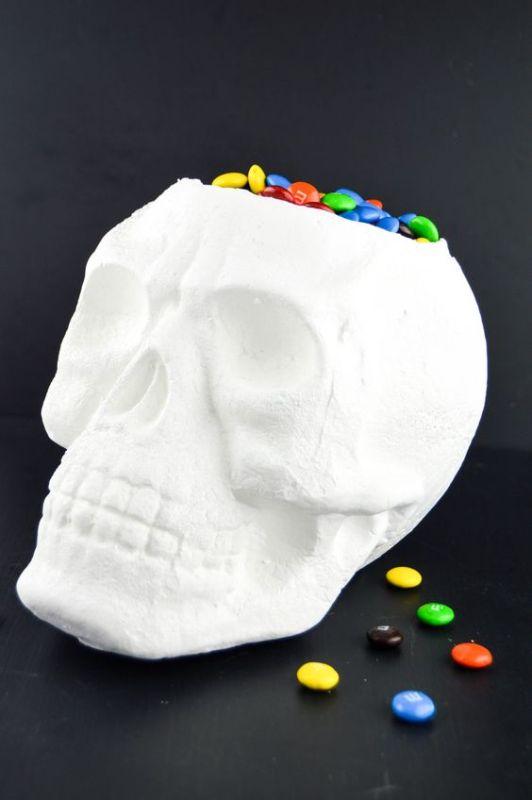 Skull Halloween Candy Dish Revamperate