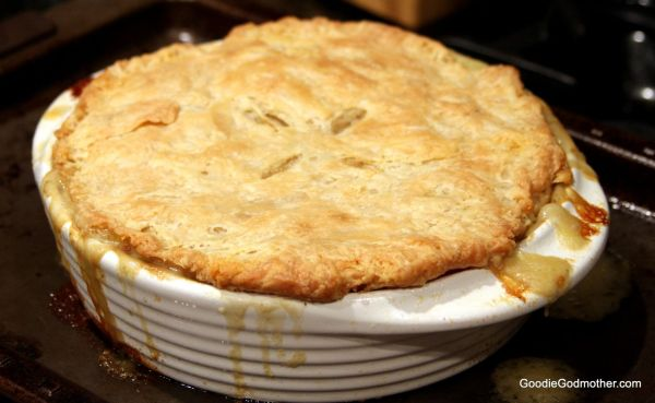 Thanksgiving Turkey Pot Pie