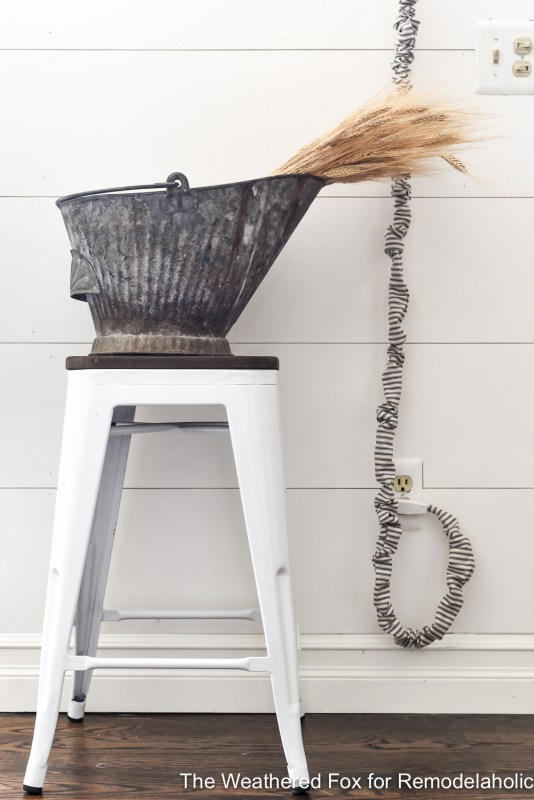 The Weathered Fox Chandelier Makeover 13