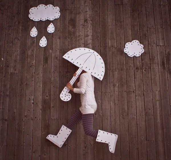 Walking In The Rain Costume