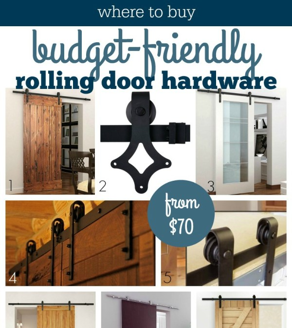 Barn Door Hardware Cro