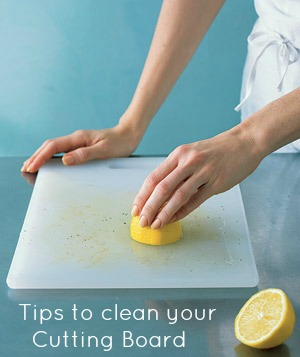 Cleaning Cutting Boards