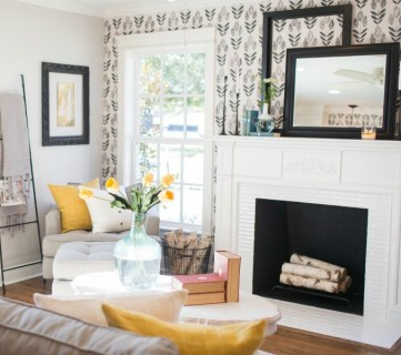 Get This Look Contemporary Farmhouse Living Room