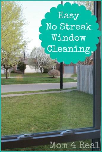 No Streak Window Cleanin
