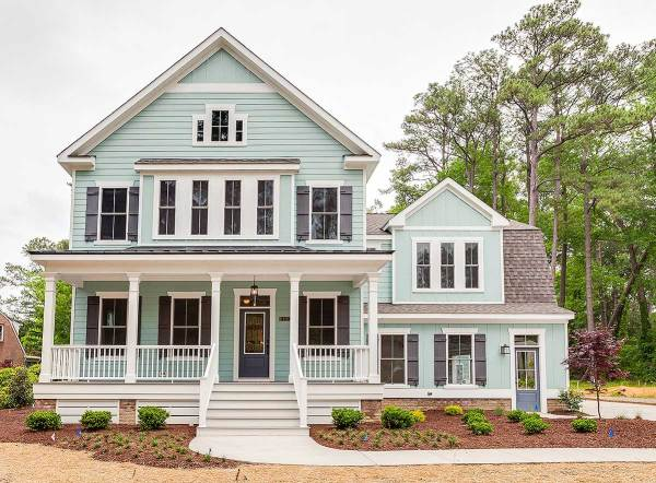 Open Plan Farmhouse Via Architectural Designs