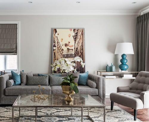 Wall color is Pale Oak Benjamin Moore. Color Spotlight on Remodelaholic