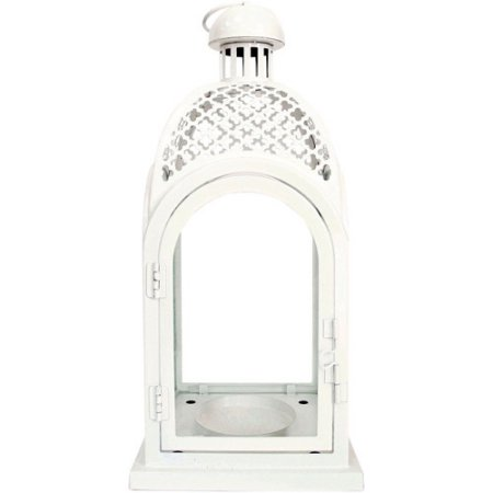 Better Homes And Gardens Metal Lantern White