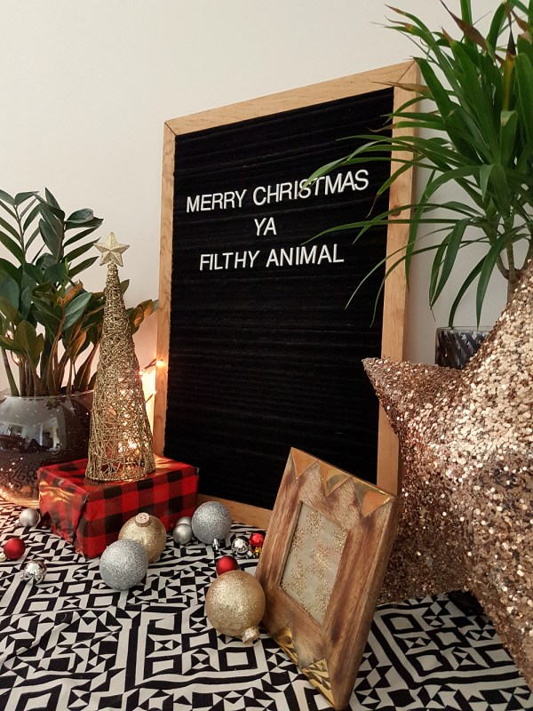 DIY Felt Letter Board Tutorial | Instead of spending big bucks to buy one, make your own felt letter board for messages, your weekly menu, or whatever you'd love to spell. This tutorial shows you how to easily make your own letter board, in any size you want, on a budget.