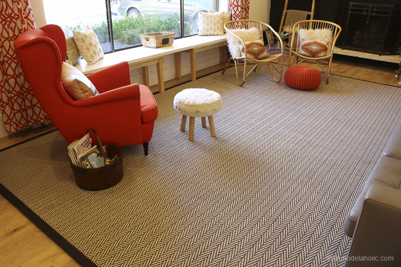 how to stop carpet from fraying at edges