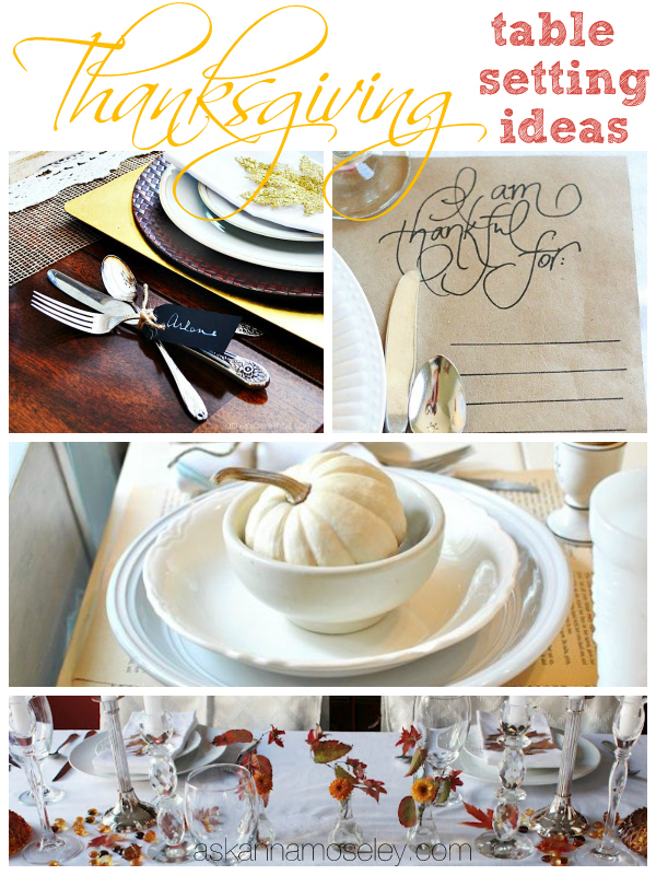 Thankgiving Table Setting Ideas Ask Anna