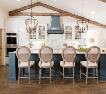 Get This Look: The Fixer Upper Cargo Ship House Kitchen