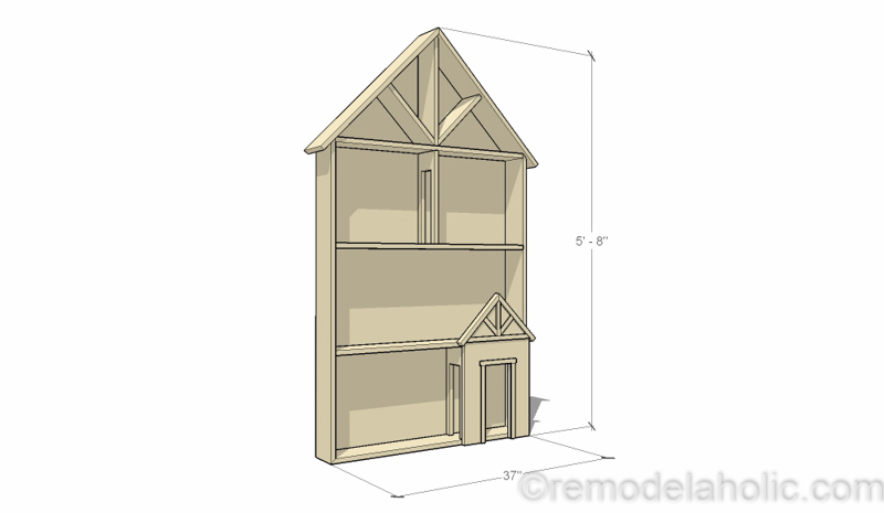 Dollhouse Project Plans 41