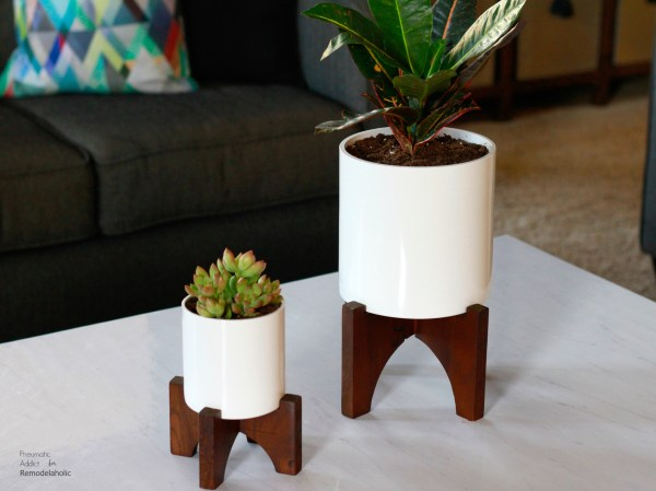 How To Make West Elm Knock Off Planter Wm