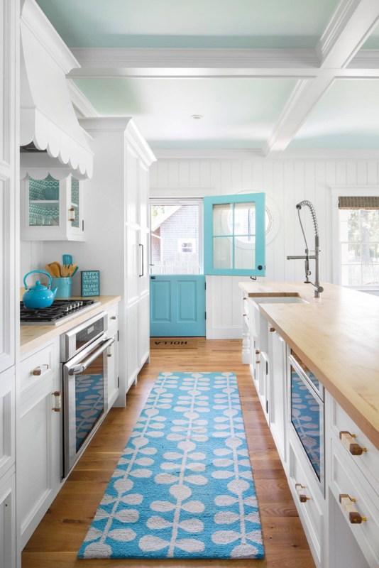 Turquoise Dutch Door 1