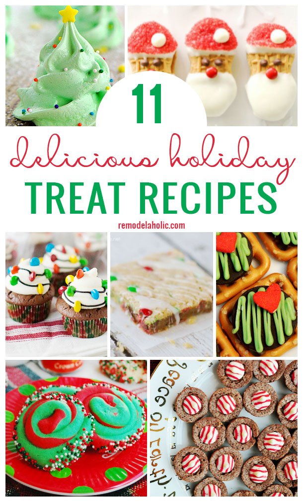 11 Delicious Holiday Treat Recipes