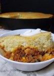 one skillet chili and cornbread 4