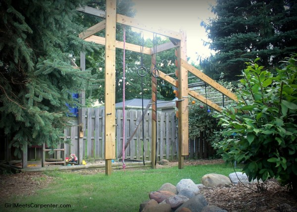 Best Outdoor Projects to Build: DIY American Ninja Warrior Course