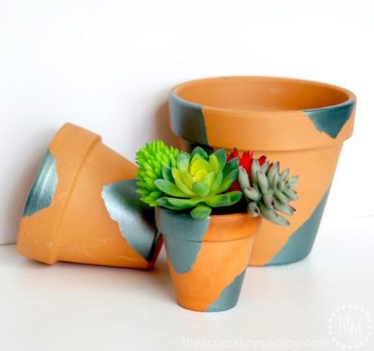 DIY Plant Pots The Scrap Shoppe Blog