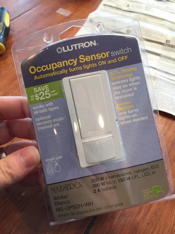 Lutron Sensor Switch