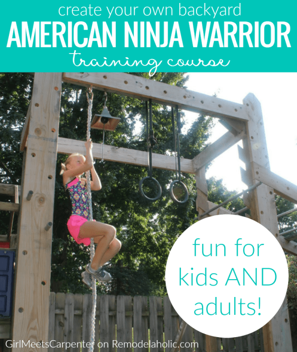 Diy American Ninja Warrior Training Course @Remodelaholic 2