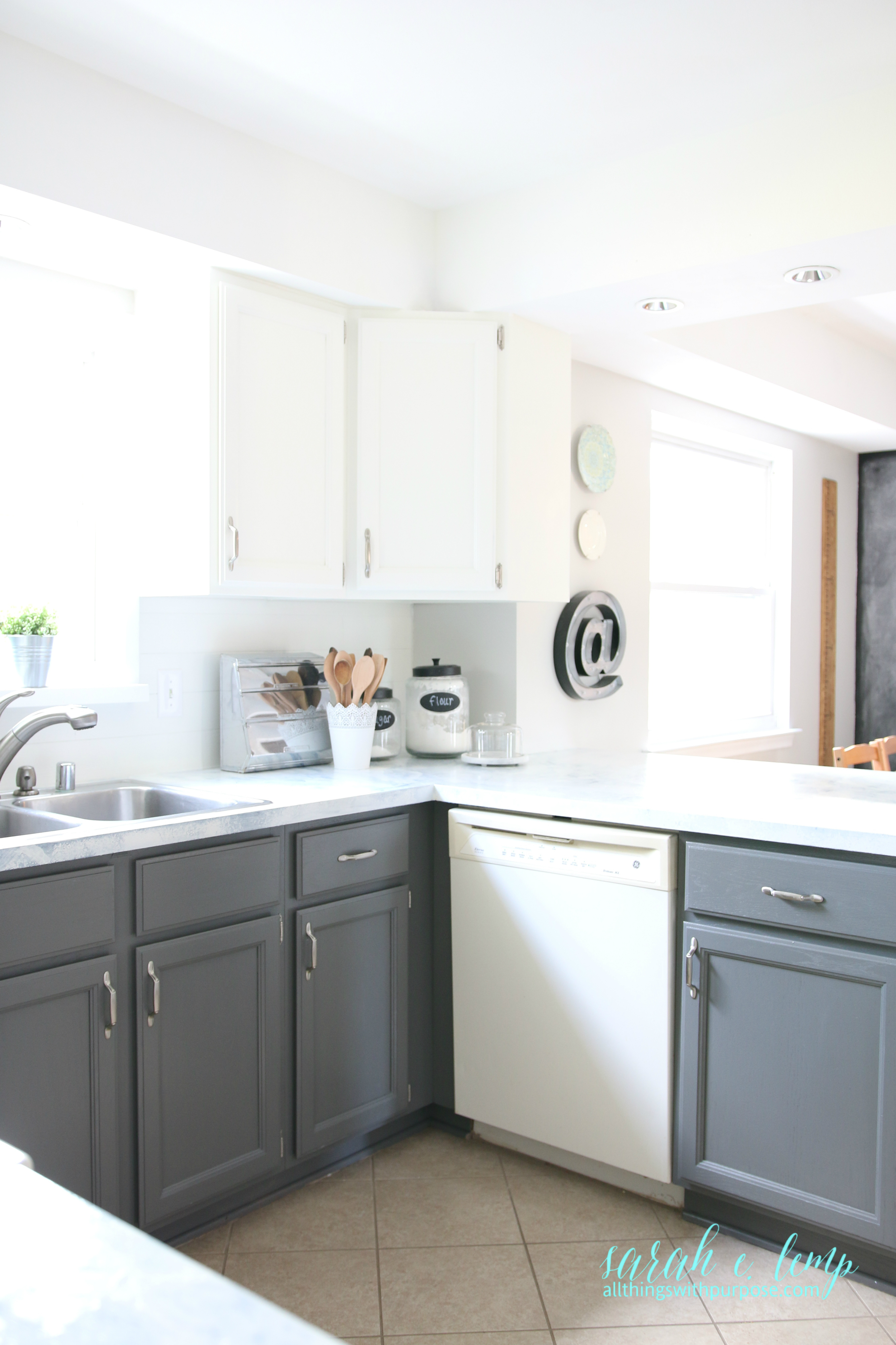 How To Hang New Kitchen Cabinets On Block Wall