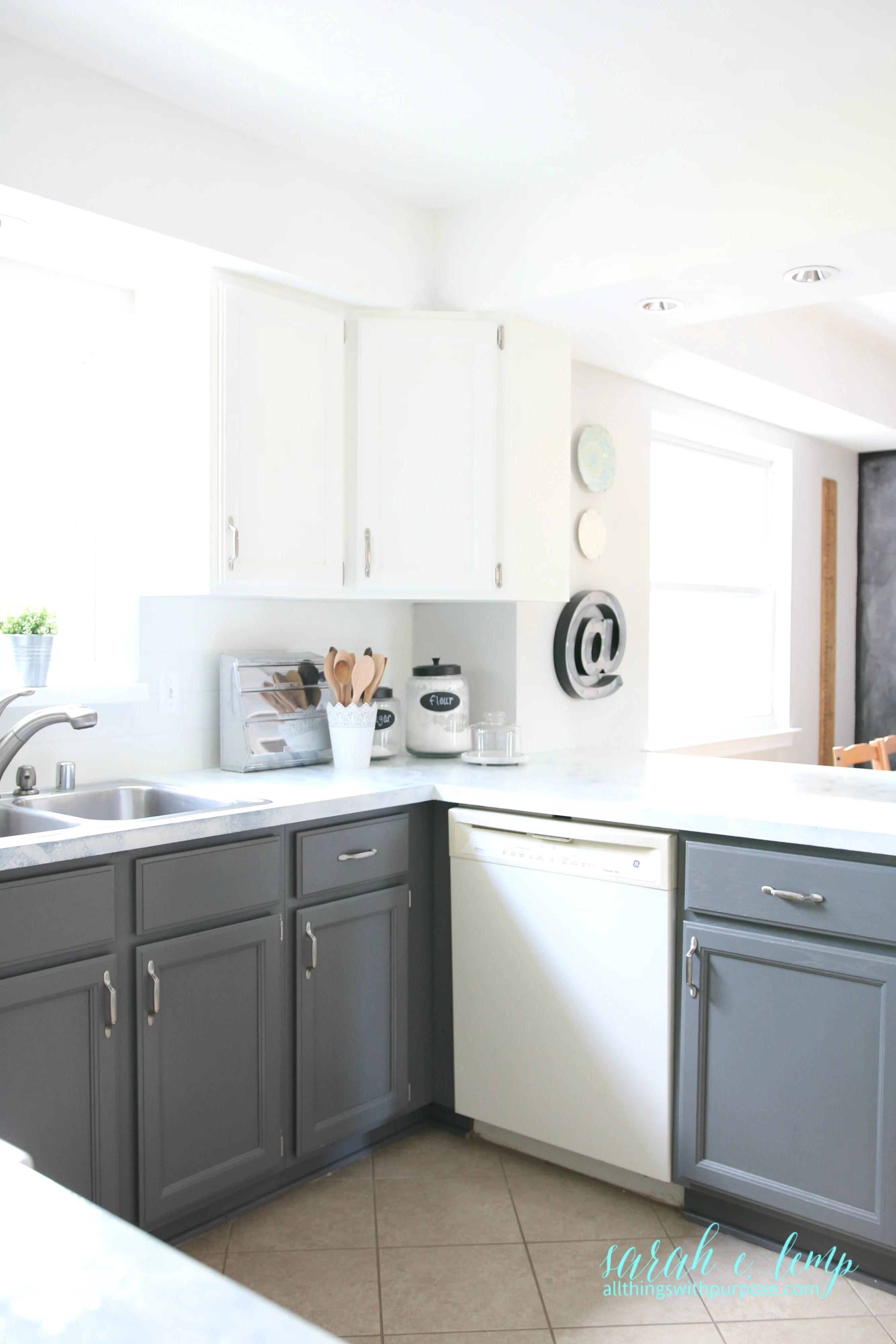 Remodelaholic Diy Budget Friendly White Kitchen