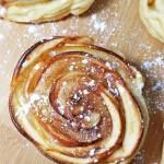 mini shaped rose apple pies 4