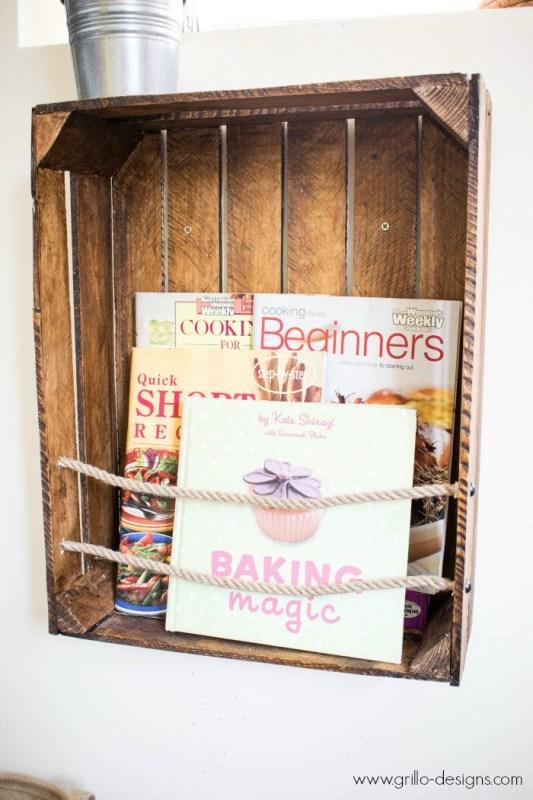 Crate Bookshelf Grillo Designs